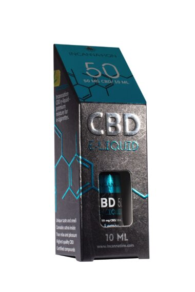 E-Liquid CBD Liquid Lemon 50 mg CBD /10 ml